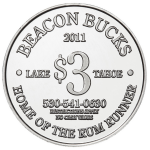 Aluminum Beacon-Bucks-3 Coin