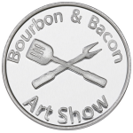 Aluminum Bourbon-and-Bacon Coin