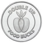 Aluminum Food-bucks-OBV Coin