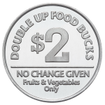 Aluminum Food-Bucks-REV Coin