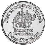Aluminum Peace-Lutheran-church Coin