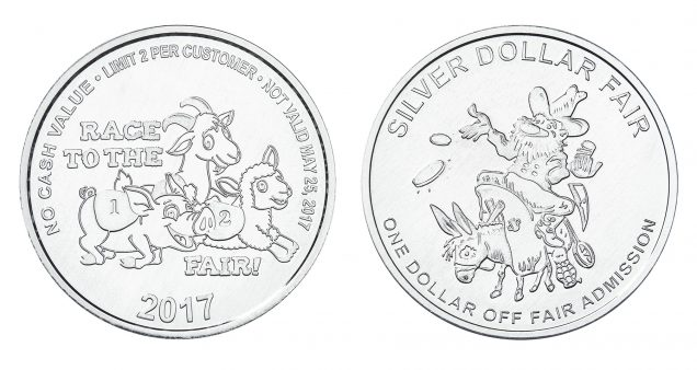Silver Dollar Fair Coins