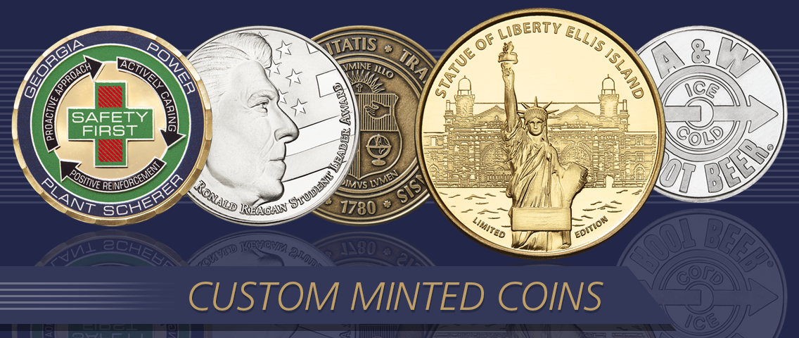 Custom Minted Coins