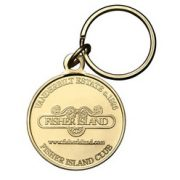 Fisher Island key tag
