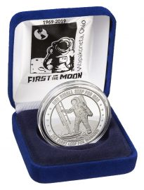 Armstrong Space Museum commemorative coin