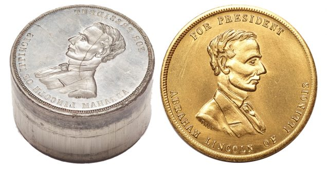 LIncoln die and coin